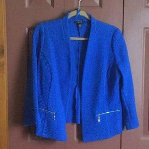 Alfani Royal Blue Dress Jacket